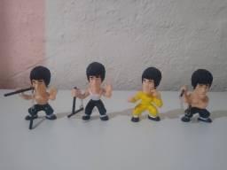 4 Boneco Bruce Lee Kung Fu Master Legend