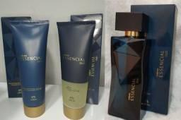 Kit essencial oud feminino natura perfume 100ml + hidratante 125ml + sabonete 125ml