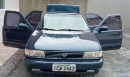Nissan Sentra, 1994/1995, 2° dono, impecável, com chave reserva, e  manual, todo original.