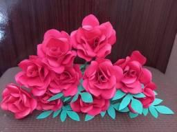 Decoração em flor