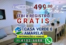 Casa Verde e Amarela Fortaleza ligue 4102-6688   Conquista Laguna   Parque e Bosque