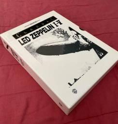 Caixa original partitura/tablatura guitarra Led Zeppelin importada.