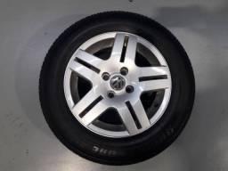 Jogo de rodas long beach aro 14 com pneus