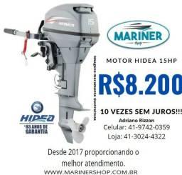 Motor Hidea 15 HP  novo 3 anos de garantia