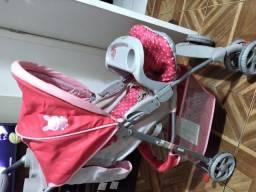 Carrinho de bebê, chiqueirinho ,bolsa maternidade e canguru canguru
