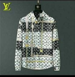 Camisa social Louis Vuitton na ETIQUETA