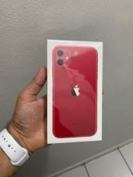 Iphone 11 64gb RED, lacrado e 1 ano de garantia apple