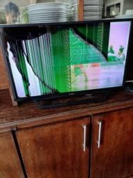 "Smart tv 32"" Sony KDL-32W655D (Tela Quebrada)"
