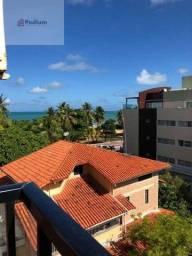 Apartamento à venda com 2 dormitórios em Cabo branco, João pessoa cod:39266