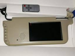 Quebra sol com tela LCD, novo (os dois)