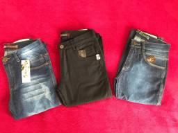 3 calças masculina n38
