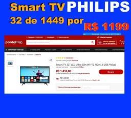 *-*  Smart TV Philips N*O*T*A Fiscal novo lacrada  *7708zcjdr