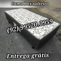 Cama box solteiro@#