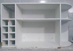 Armário de Cozinha Suspenso em MDF