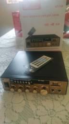 Amplificador 500w bluetooth