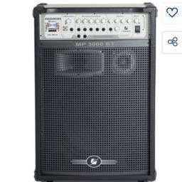 Caixa fhram 3000 whats de potencia. Com Bluetooth/pendriver , troco por tablet .