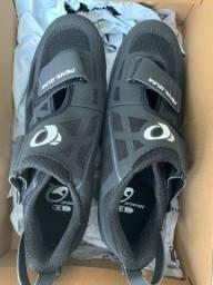 Título do anúncio: Sapatilha Ciclismo - Pearl Izumi Tri Fly Select v6 - Preta (NOVA) - Tamanho 37 (BR)
