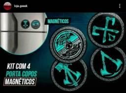 Kit de porta copos magnéticos Assassin's Creed Valhalla