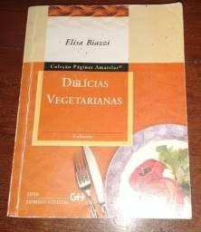 Livro sobre delícias vegetarianas