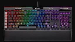 Teclado Corsair K95 Platinum Xt Raridade Switch Cherry Mx Speed
