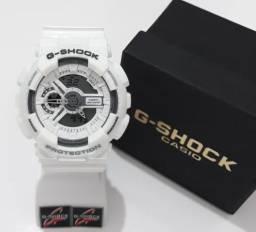 2590fea8656 Relógio G Shock Branco Automático