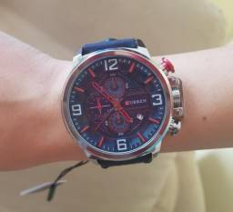 Relógio Masculino Curren 2018 Ocean Azul