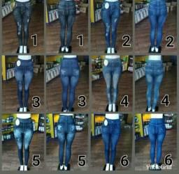 Vendo legging jeans tamanho único