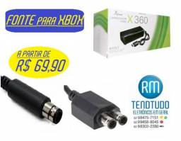 Fonte para xbox 360 -* bivolt automatico/ nao precisa de estabilizador-Rm Tendtudo Eletro