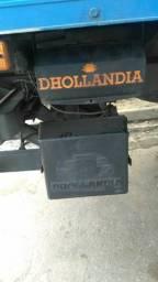 Rampa hidráulica semi nova Dhollandia