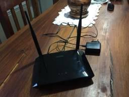 Roteador Wi-Fi com antena dupla