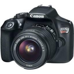 Camera Canon T6 Kit 18-55mm 3 meses de uso