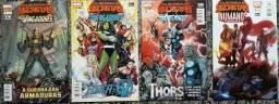 Tie-ins das Guerras Secretas, da Marvel