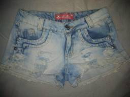 Bermuda jeans veste 36