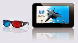 "Tablet dl 3d max view 8gb wi-fi tela 7"" android 4.0 processador cortex a9 1.2ghz"