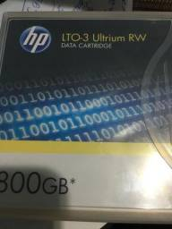 Kit C/ 5 Fitas De Dados Hp Lto-3 Ultrium Rw 800gb - C7973a