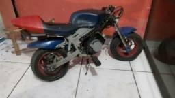 Mini moto infantil 2 tempos