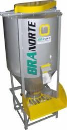 Misturador Horizontal 300 Litros para Plásticos