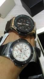 5e50ab6bab9 Relógio Megir + Relógio Epozz