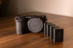 Camera Sony a6500 4k - apenas 1867 cliques