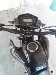SOMENTE VENDA 9.500,00 . Moto bros 160 2015/2016  *