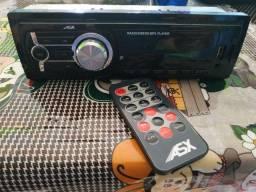 Rádio Completo Controle USB Cartão Auxiliar