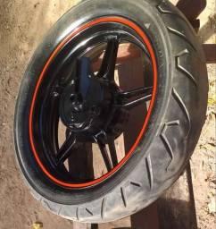Roda da cb 300 a tambor com balança