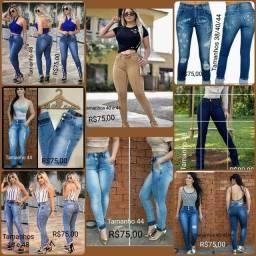 Qualquer q peça por 60 reais calças jeans novas