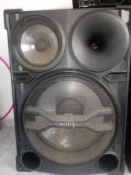 Caixa de som da sony