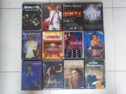Dvds De Diversos Shows (lote com doze discos)