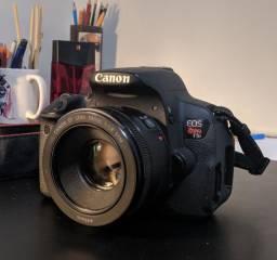 Canon T5i + 50mm 1.8STM