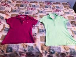 2 camisas pólos Alleatory