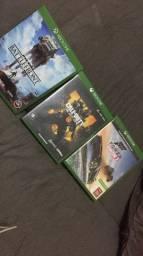 Vendo 3 jogos
