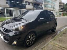 Nissan March - 1.6 Modelo SL Cvt Bancos de Couro - Multimídia - TOP de Linha