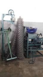 Maquina fabricar tela de alambrado